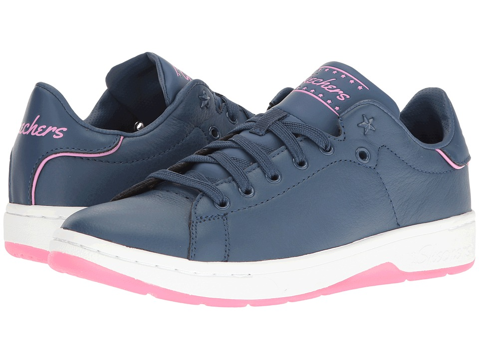 SKECHERS - Alpha - Lite (Navy/Pink) Women's Lace up casual Shoes