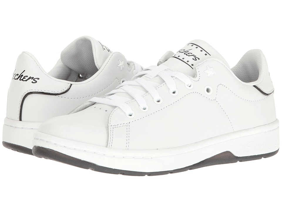 SKECHERS - Alpha - Lite (White/Blue) Women's Lace up casual Shoes