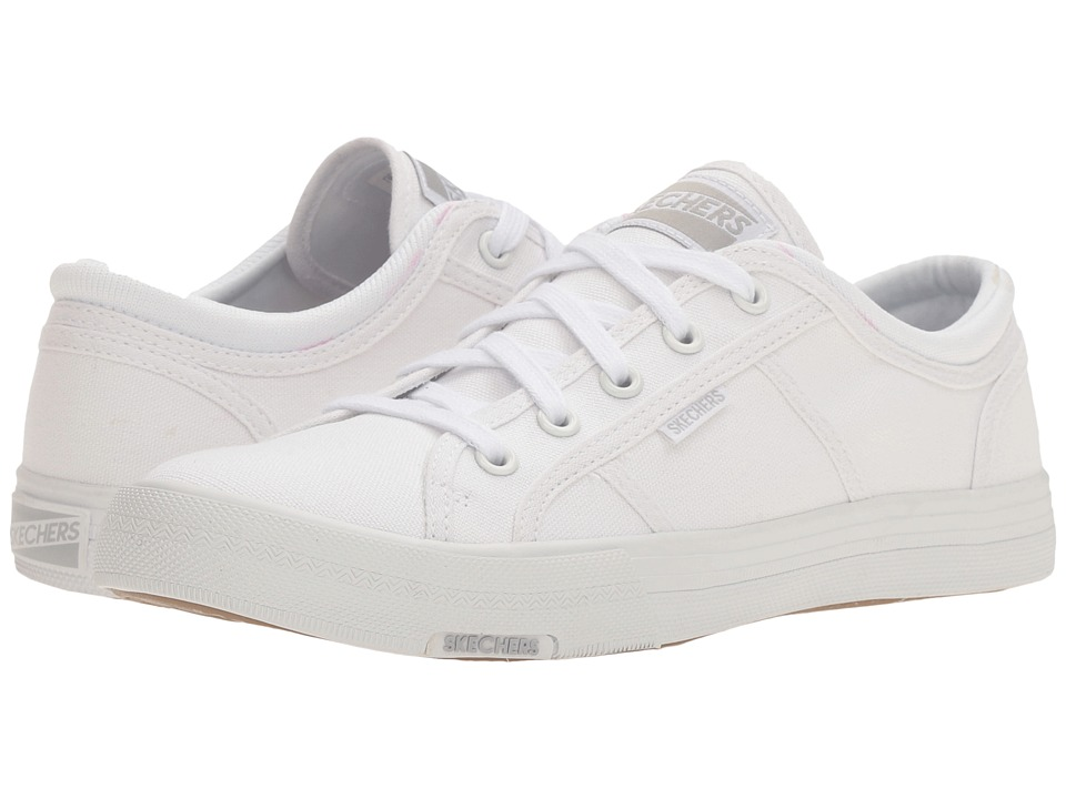 SKECHERS - Utopia (White) Women's Lace up casual Shoes