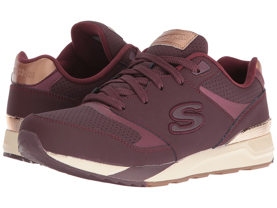 SKECHERS - OG 90 - Smooth Moves (Burgundy) Women's Lace up casual Shoes