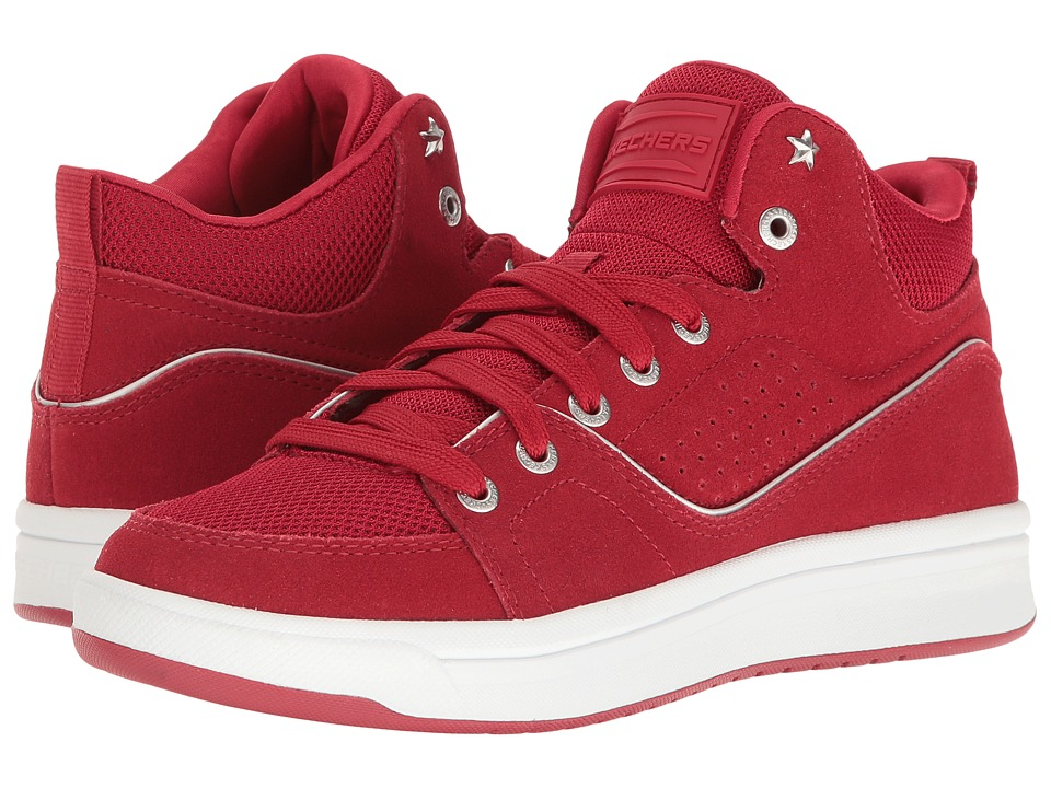 SKECHERS - Downtown (Red) Women's Lace up casual Shoes