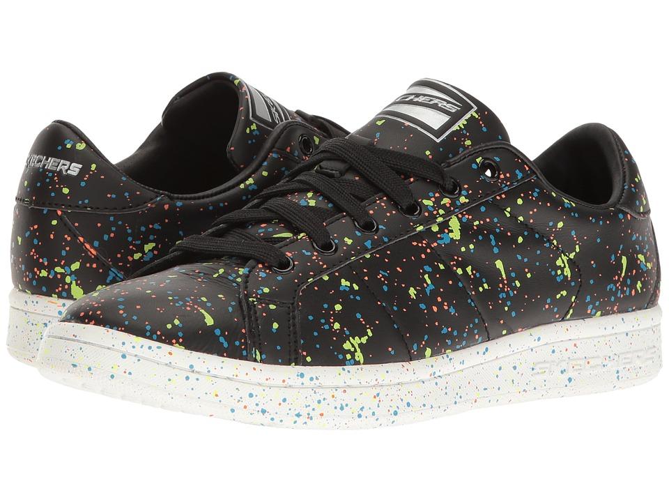SKECHERS - Onix - The Painter (Black/Mint) Women's Lace up casual Shoes