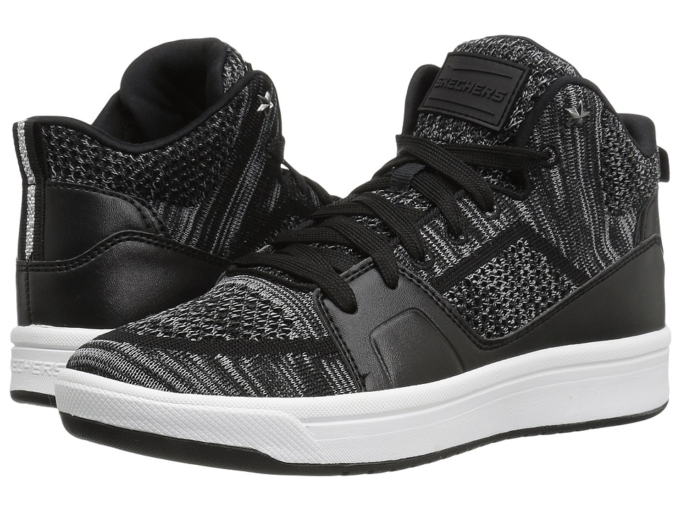 SKECHERS - Downtown (Black) Women's Lace up casual Shoes