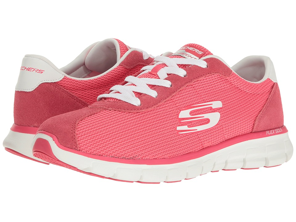 SKECHERS - Synergy (Pink) Women's Lace up casual Shoes