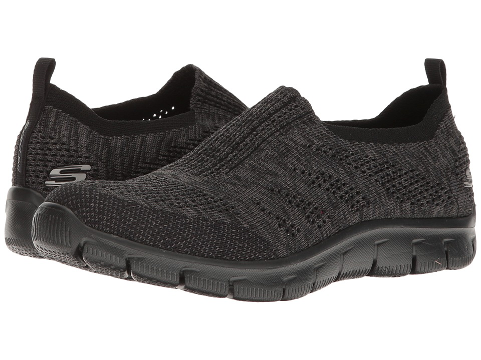 SKECHERS - Empire - Inside Look (Black) Women's Slip on Shoes