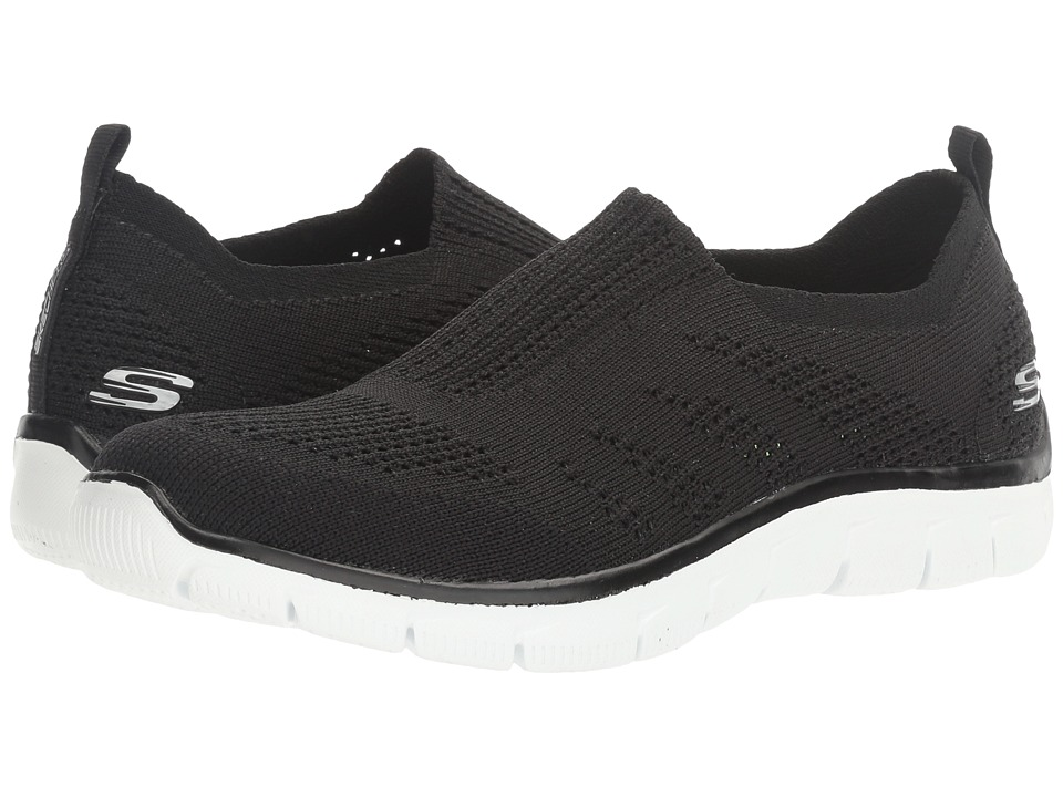 SKECHERS - Empire - Inside Look (Black 1) Women's Slip on Shoes