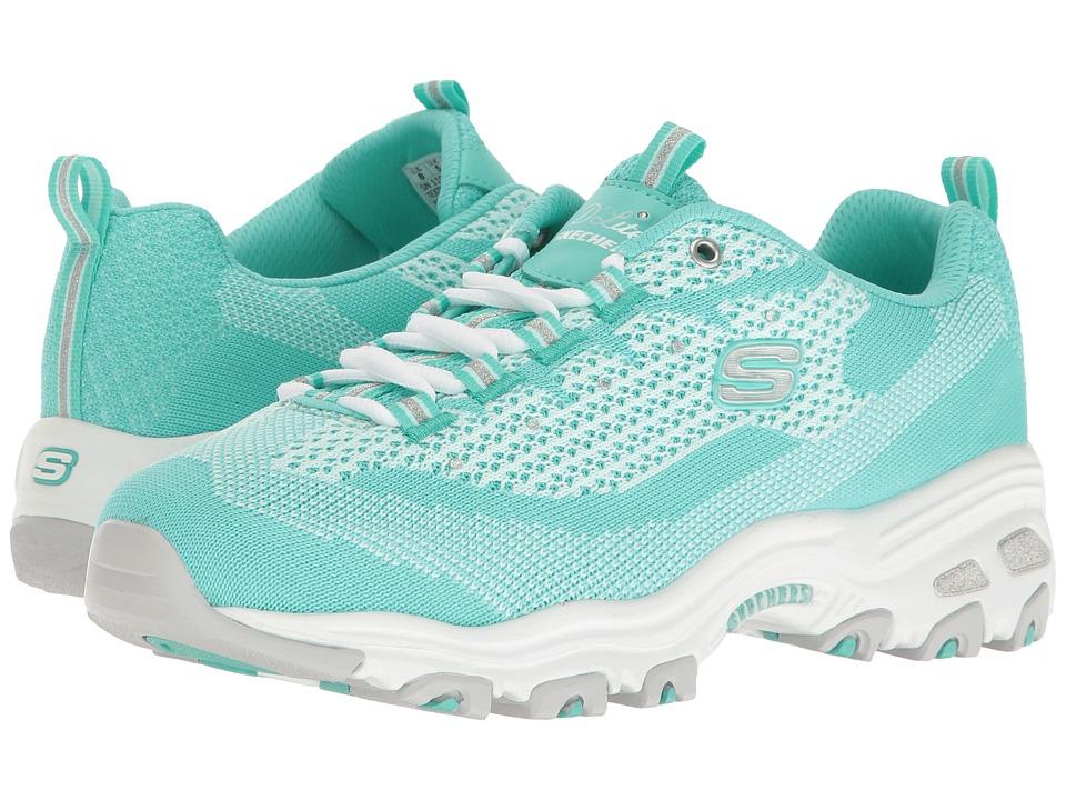SKECHERS - D'Lites - Reinvention (Mint) Women's Lace up casual Shoes
