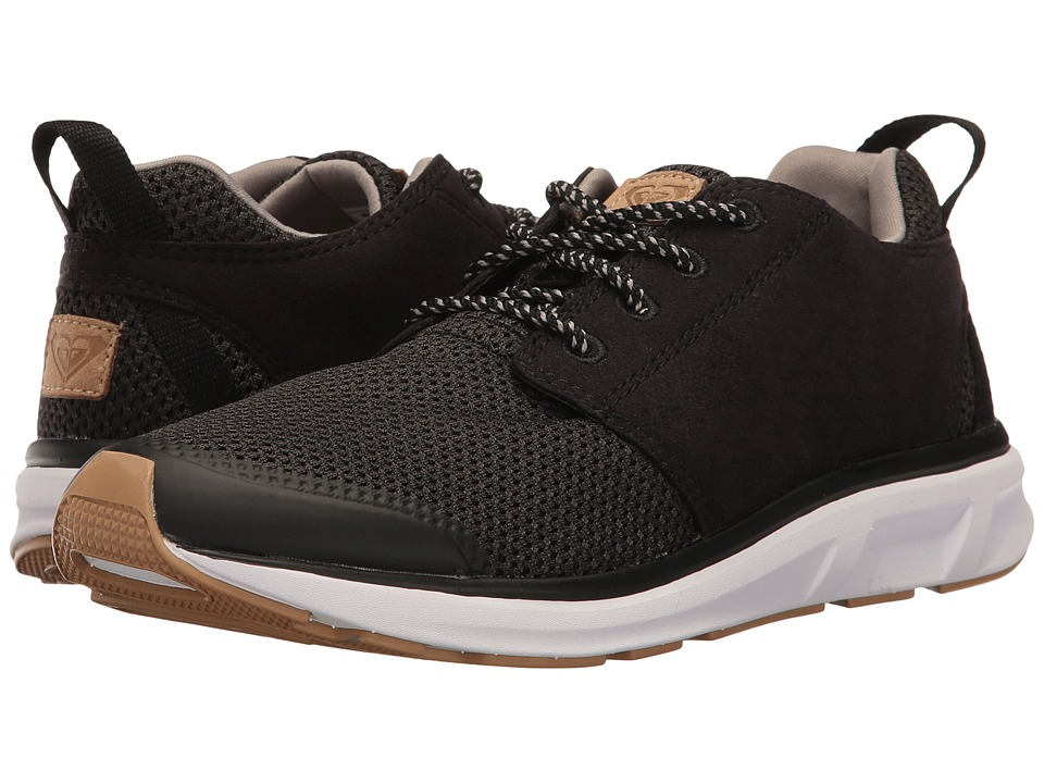 Roxy - Set Session (Black 2) Women's Lace up casual Shoes