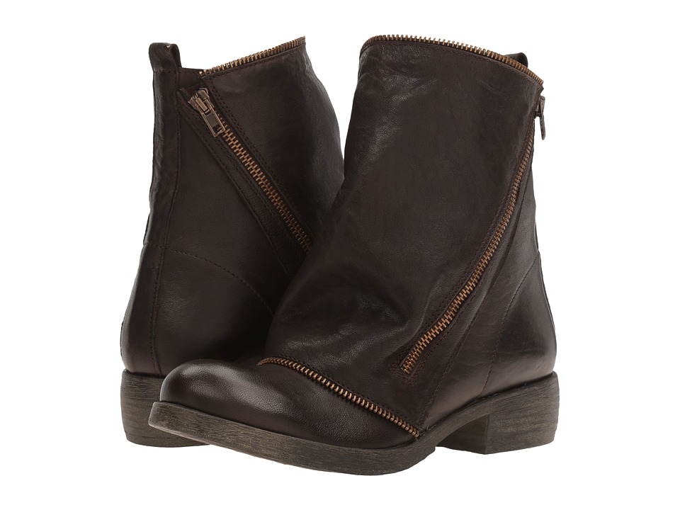 Massimo Matteo - Low Boot with Zipper (Testa Di Moro) Women's Boots