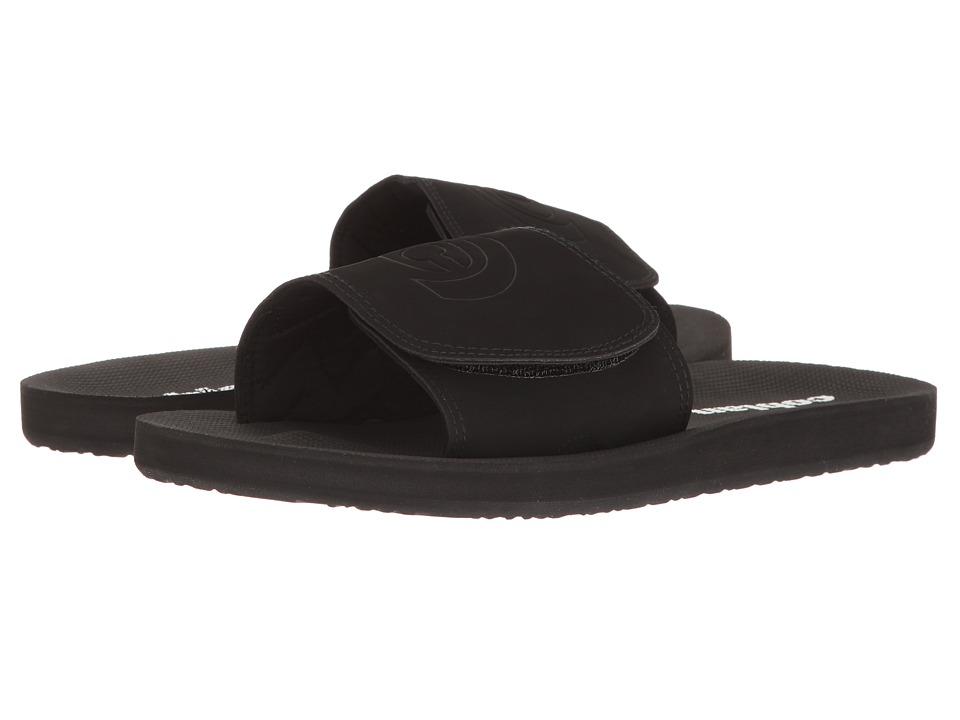 Cobian - Cruz Slide (Black) Men's Shoes