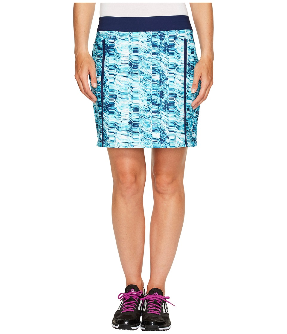 adidas Golf - Ultimate Adistar Printed Skort (Night Sky) Women's Skort