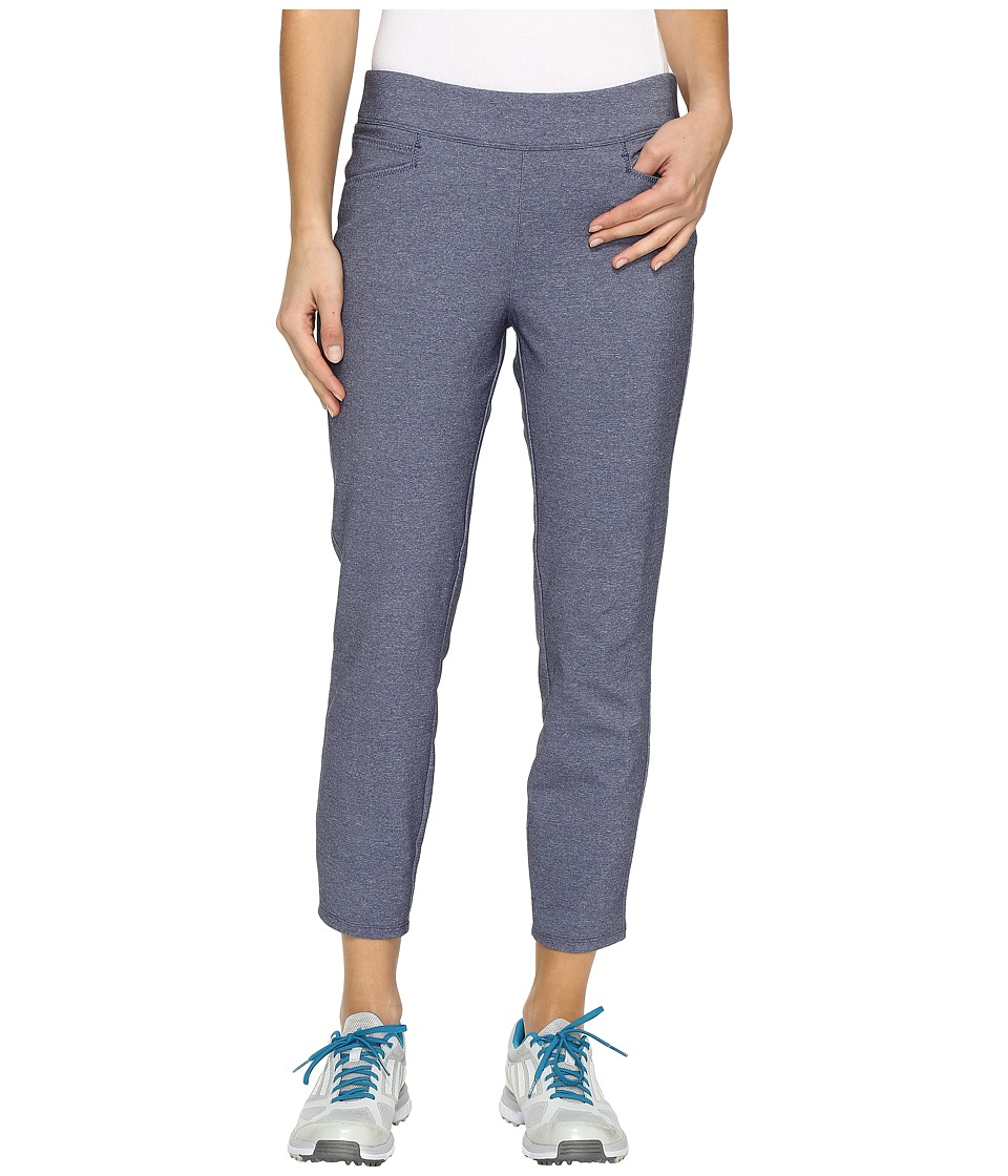 adidas Golf - Ultimate Adistar Heathered Ankle Pants (Night Sky Heather) Women's Workout