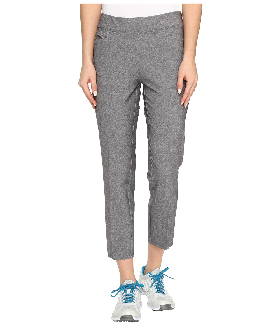 adidas Golf - Ultimate Adistar Heathered Ankle Pants (Black Heather) Women's Workout