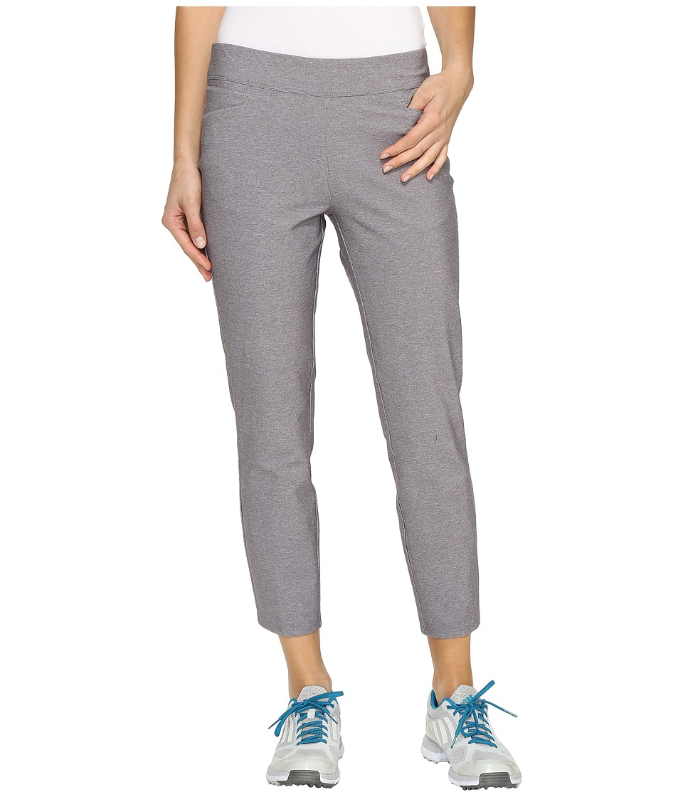 adidas Golf - Ultimate Adistar Heathered Ankle Pants (Trace Grey Heather) Women's Workout