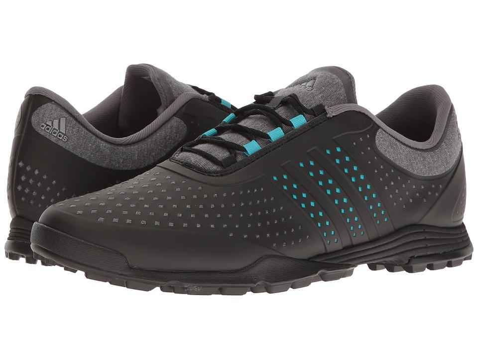 adidas Golf Adipure Sport (Grey Heather/Energy Blue/Core Black) Women