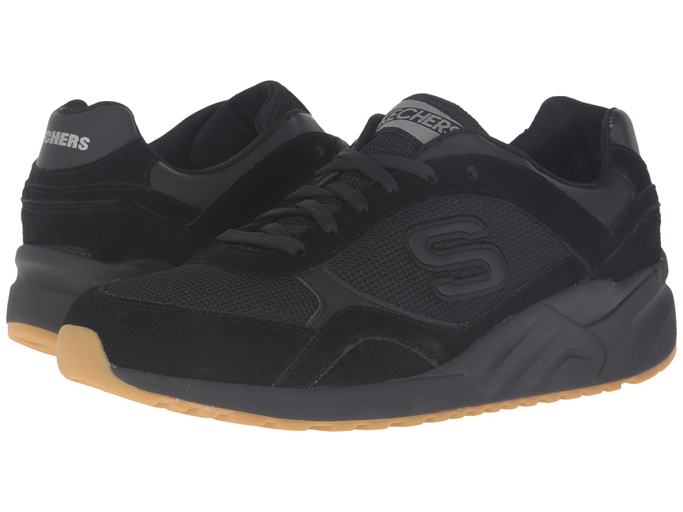 SKECHERS - OG 90 - Jammy (Black) Men's Shoes