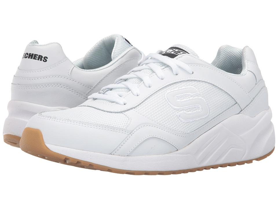 SKECHERS - OG 90 - Jammy (White) Men's Shoes
