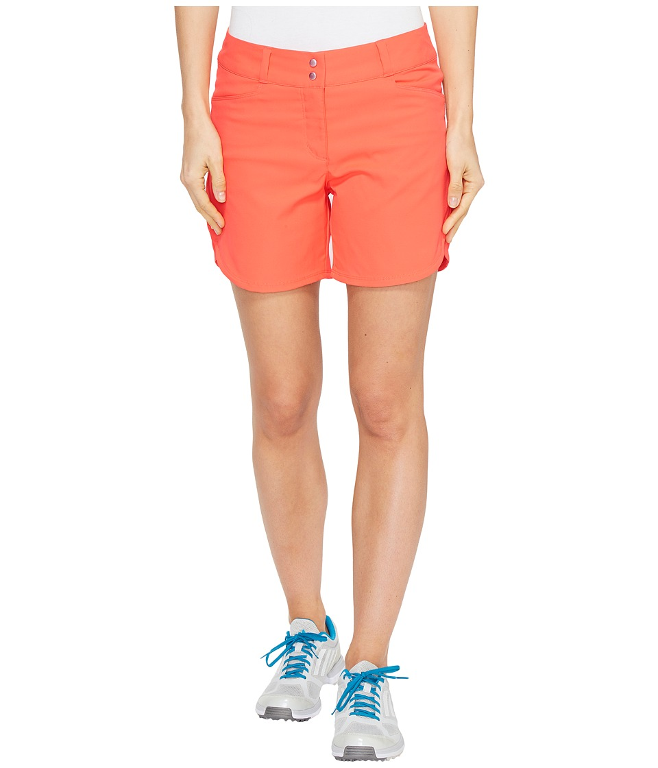 adidas Golf - Essentials 5 Shorts (Easy Coral) Women's Shorts
