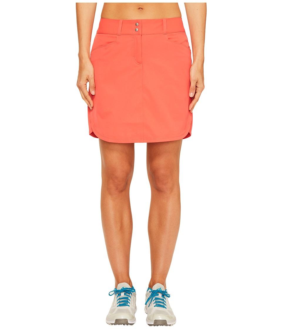 adidas Golf Essentials 3-Stripe Skort (Core Pink) Women