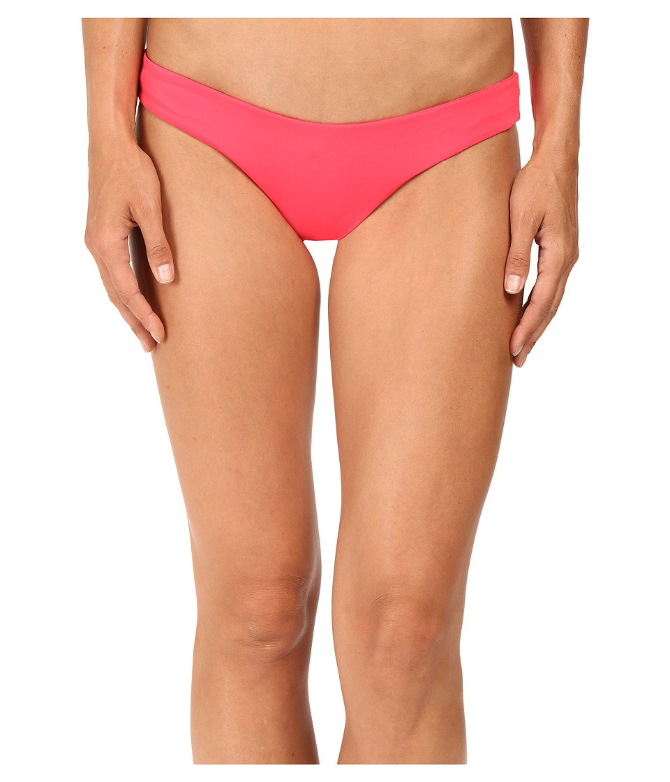 L*Space - Sandy Classic Bottom (Hot Cherry) Women's Swimwear