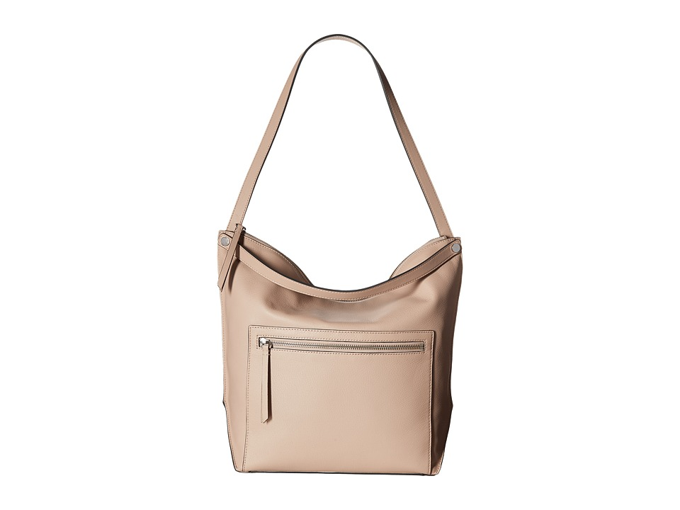 ECCO - Sculptured Hobo Bag (Rose Dust) Hobo Handbags