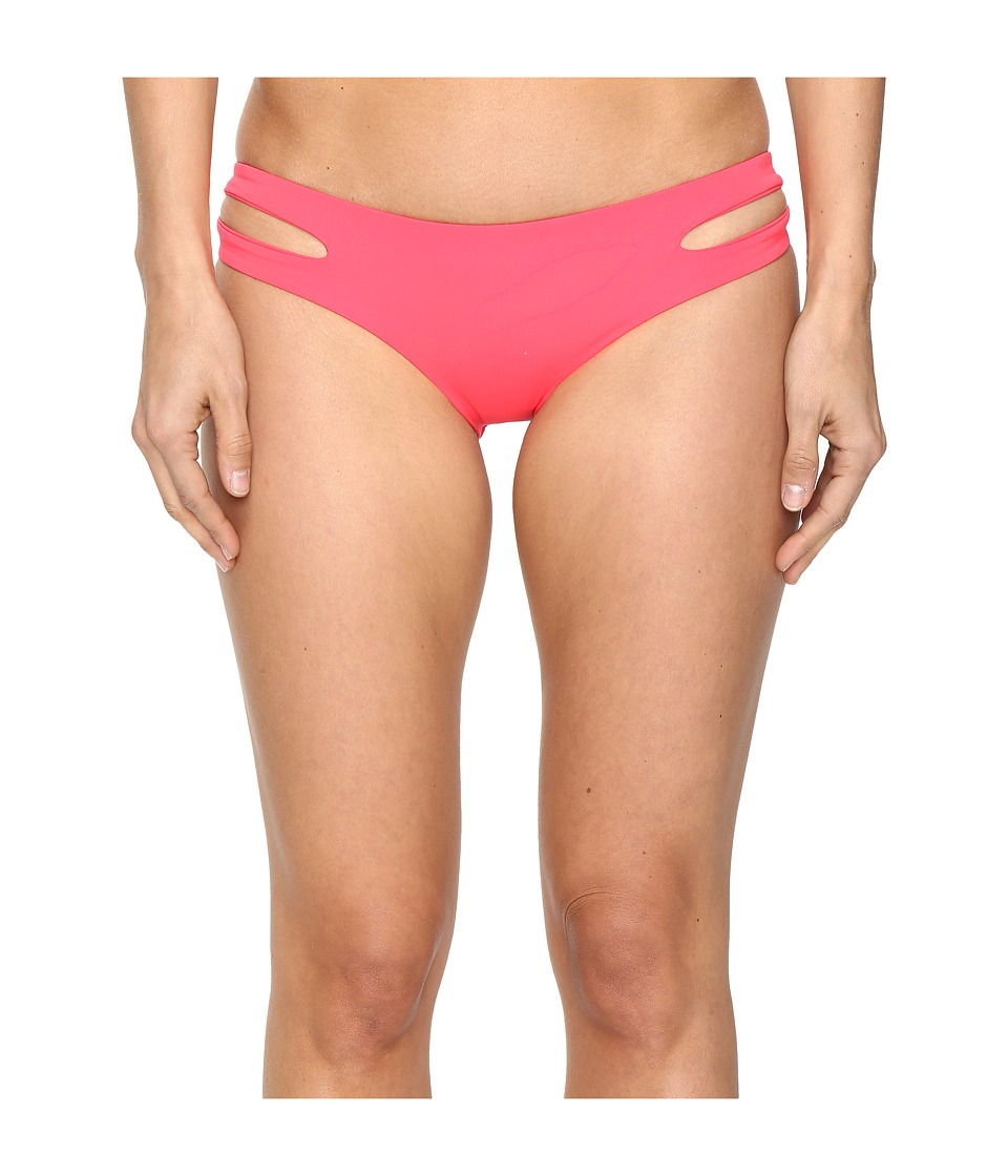 L*Space - Estella Classic Bottom (Hot Cherry) Women's Swimwear