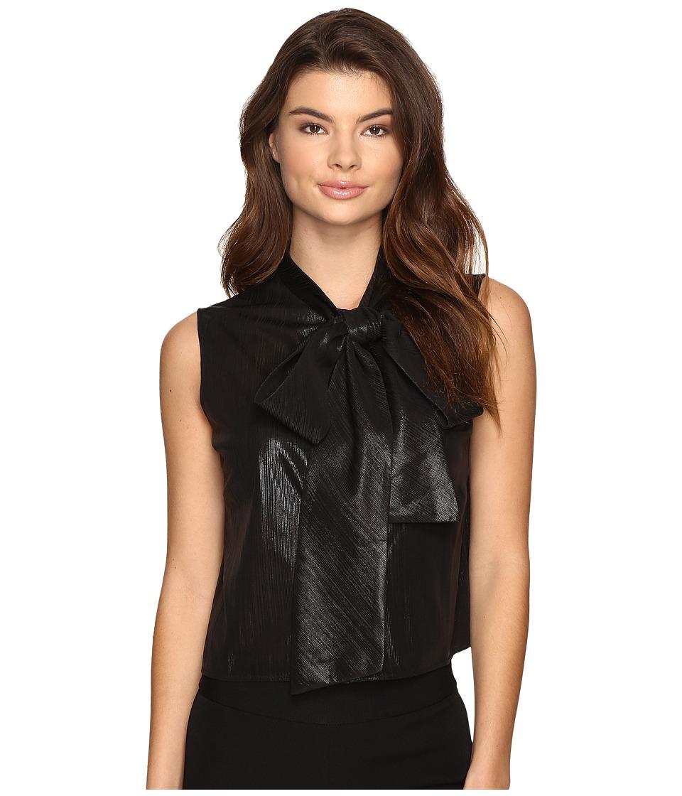 Rachel Antonoff - JC Bow Dress (Black Shimmer) Women's Dress