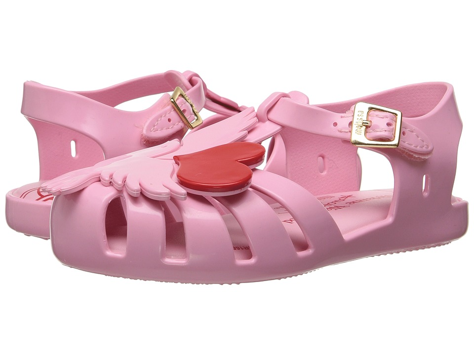 Vivienne Westwood - Anglomania + Melissa Aranha (Toddler) (Pink) Women's Shoes
