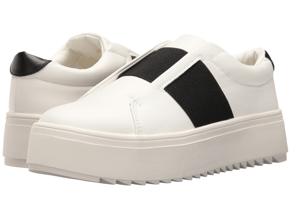 LFL by Lust For Life - Battle (Black/White) Women's Slip on Shoes