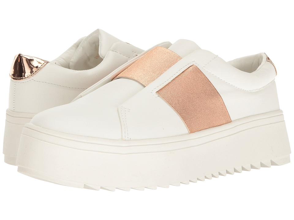 LFL by Lust For Life - Battle (Rose Gold) Women's Slip on Shoes