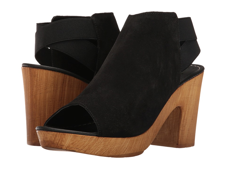 Kenneth Cole Reaction - Log Line (Black Suede) Women's Shoes