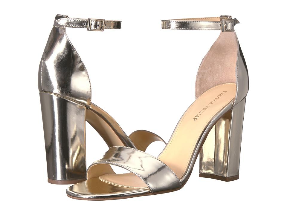 Ivanka Trump Klover (Light Gold) High Heels