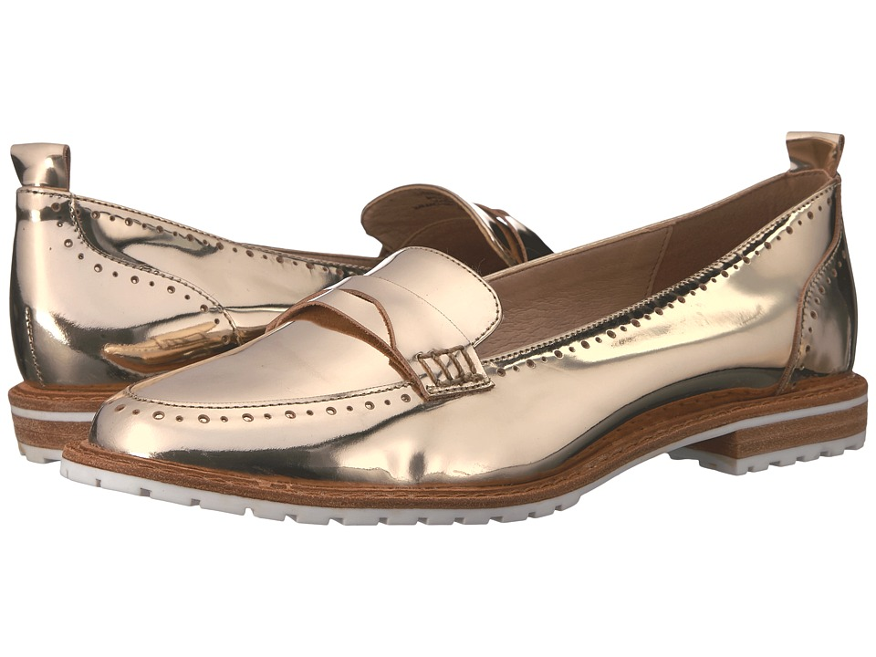 LFL by Lust For Life - Sport (Gold Leather) Women's Dress Flat Shoes