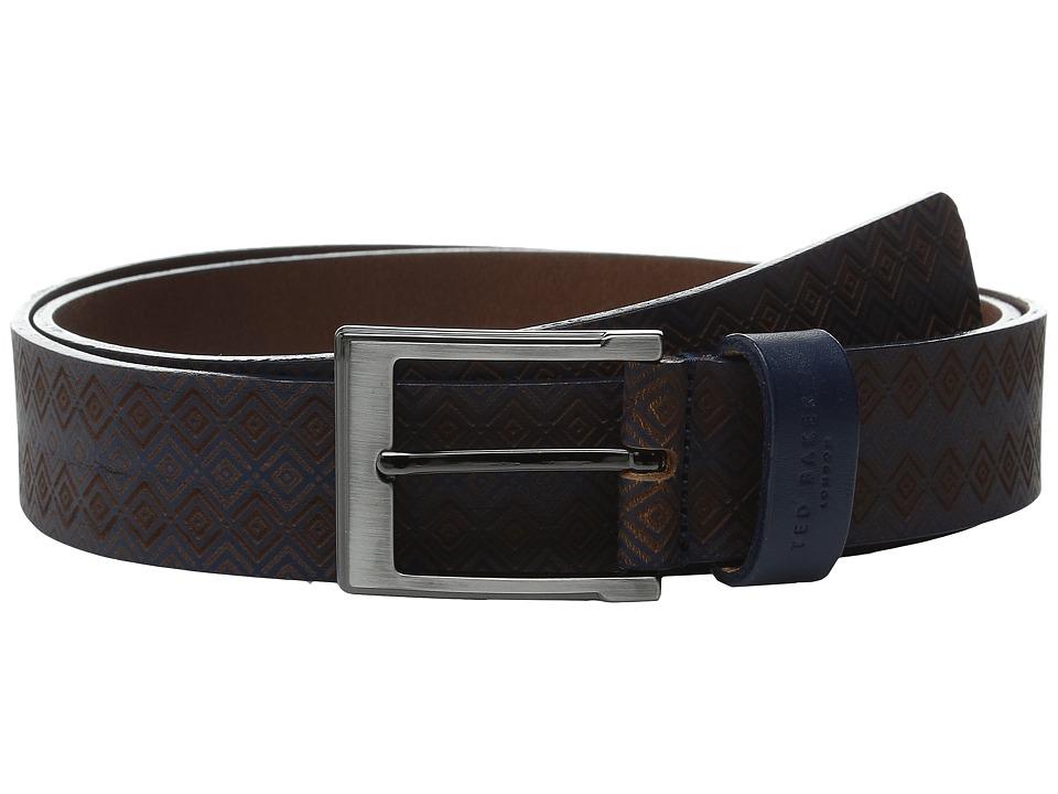 Ted Baker - Hylon (Navy) Men's Belts