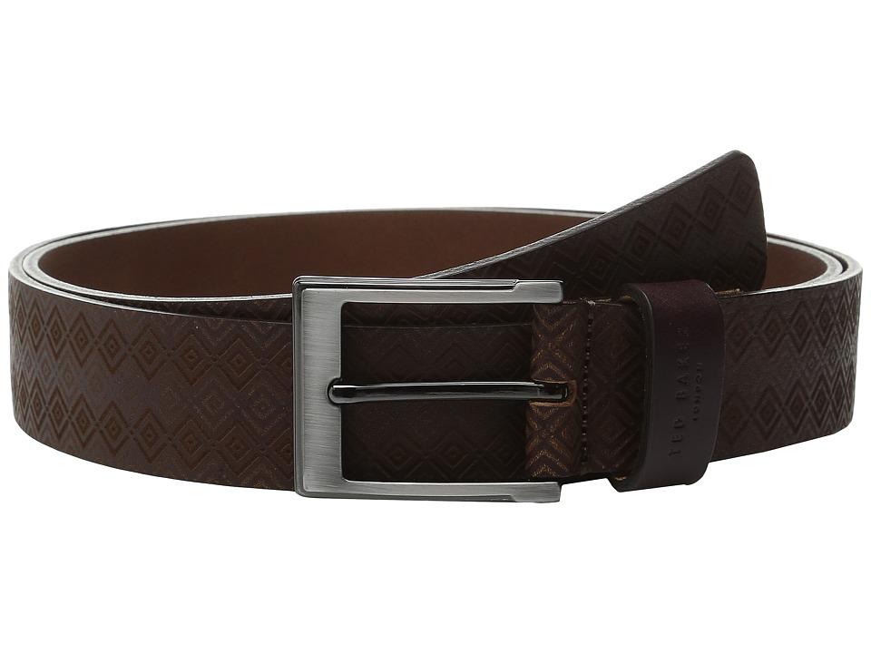 Ted Baker - Hylon (Oxblood) Men's Belts