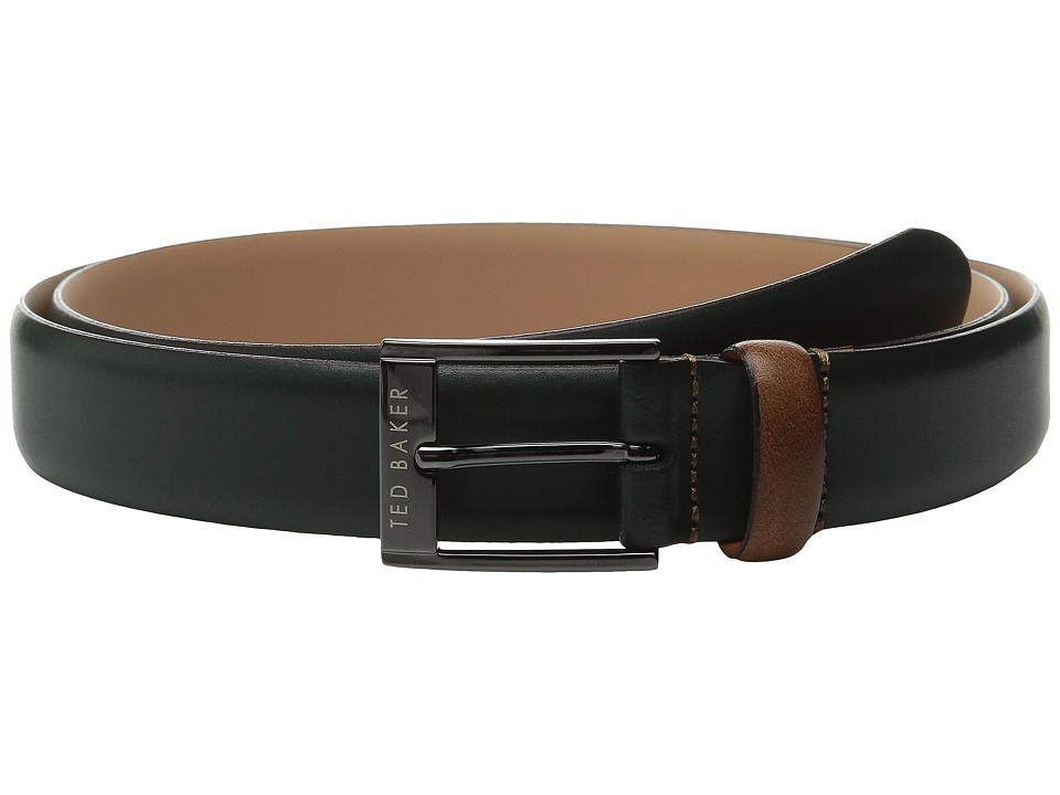 Ted Baker - Wilson (Dark Green) Men's Belts