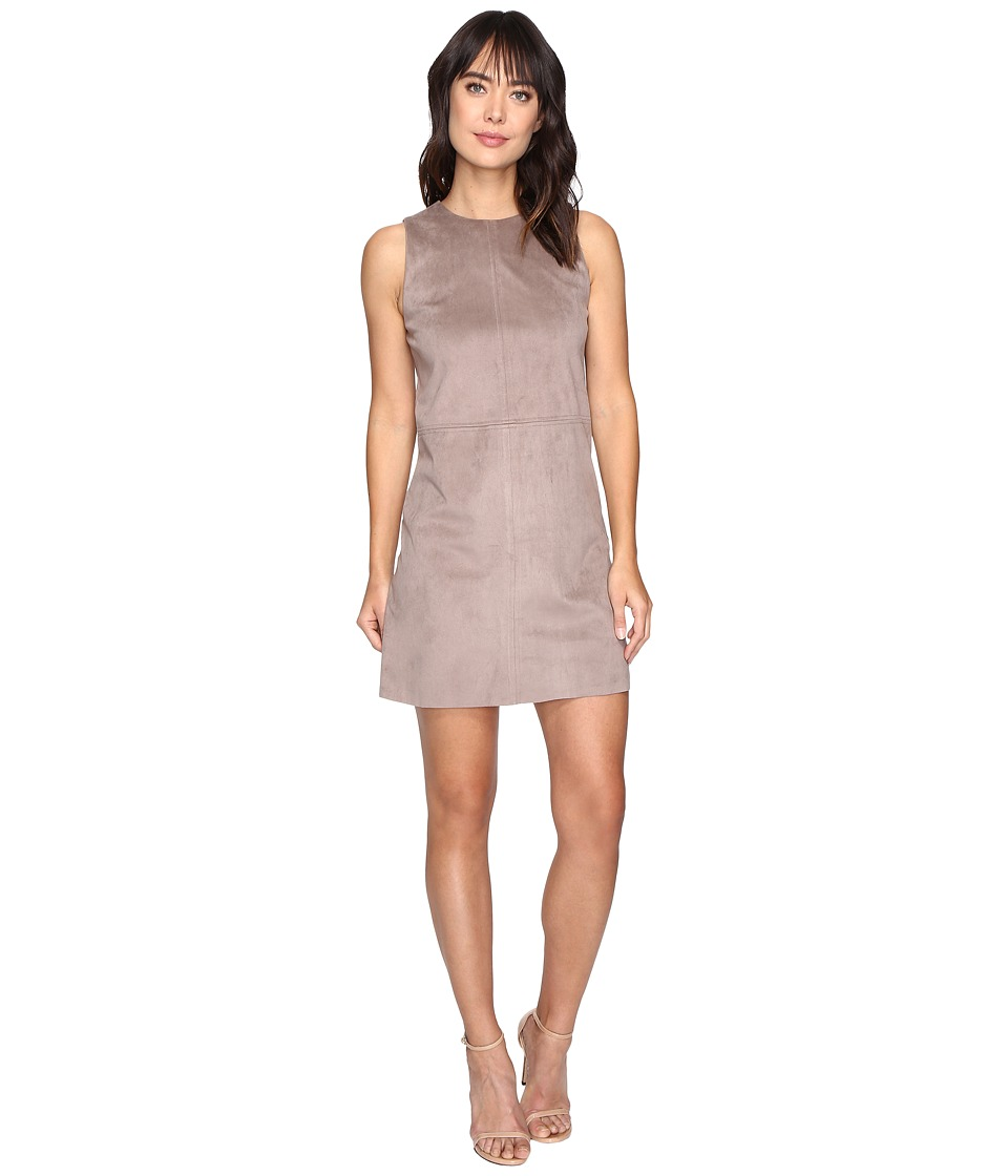 kensie Stretch Suede Dress KSDU7055 (Nutmeg) Women