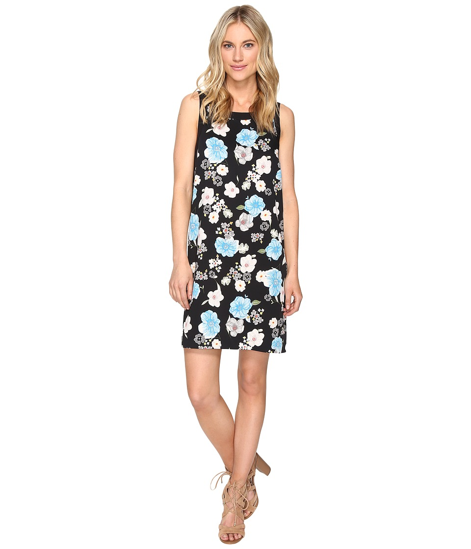 kensie Botanical Garden Dress KS1K7778 (Black Combo) Women