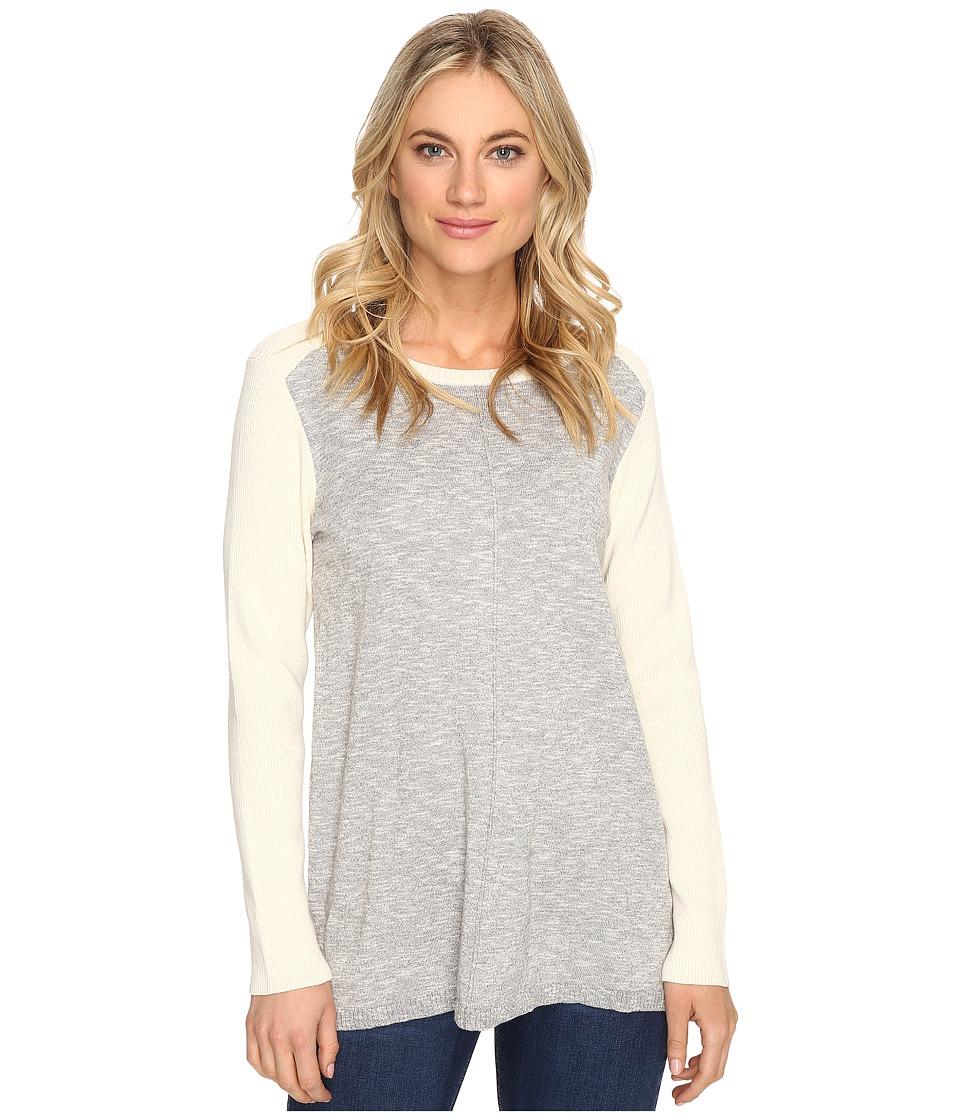 kensie - Mash Fine Gauge Sweater KS1K5547 (Grey Dusk Combo) Women's Sweater