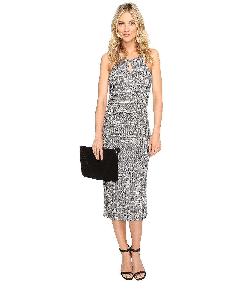 kensie - Wide Rib Dress KS1K7540 (Black Combo) Women's Dress