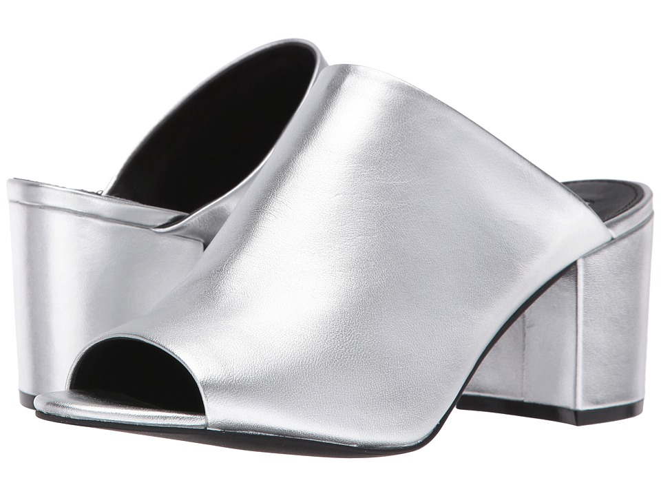 Steve Madden - Infinity (Silver Leather) Women's Shoes