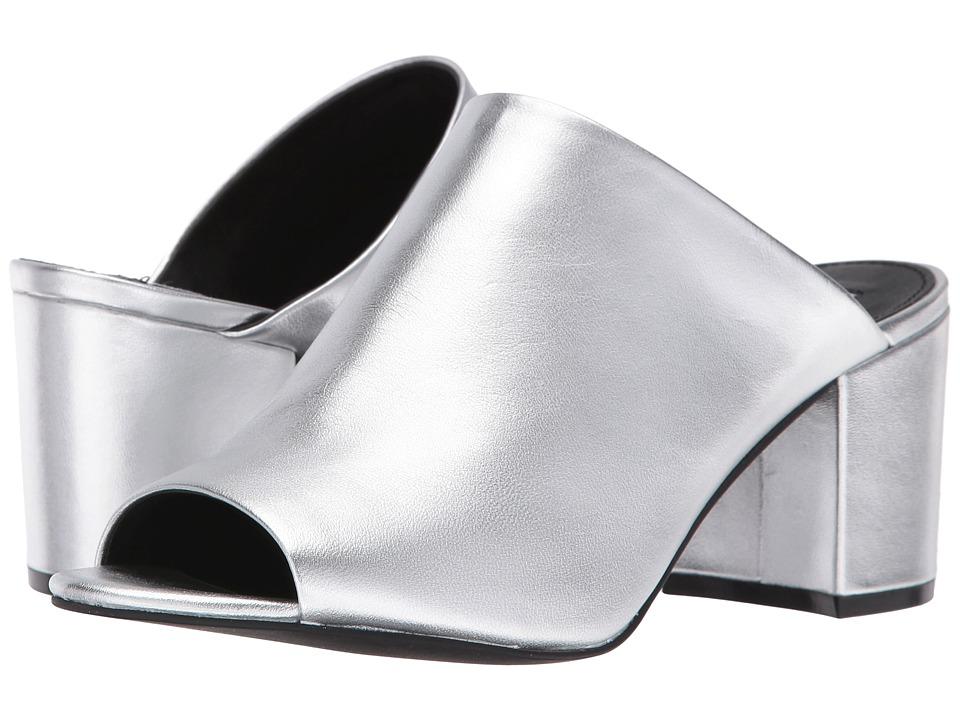Steve Madden Infinity (Silver Leather) Women
