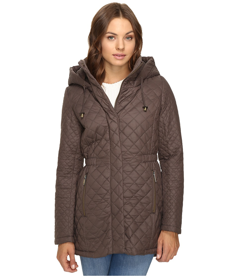 French Connection - Quilted Anorak (Taupe) Women's Coat