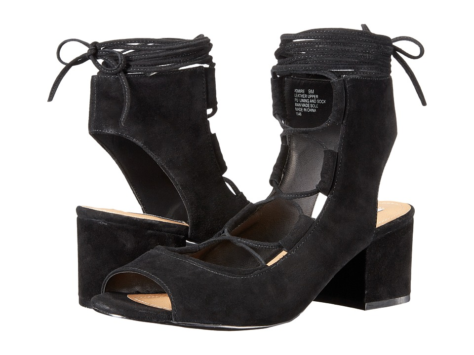 Steve Madden Admire (Black Suede) Women's Shoes