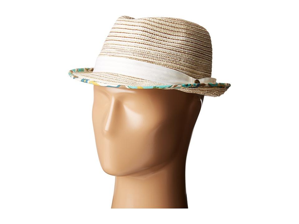 Pistil - Malone (Natural 1) Fedora Hats
