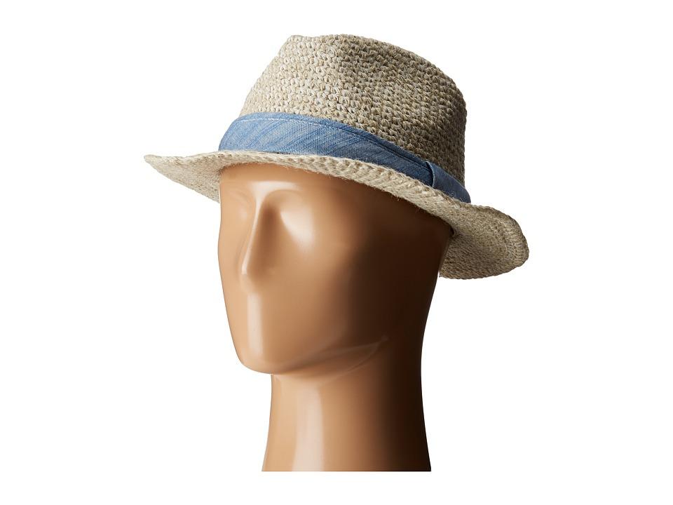 Pistil - Cassidy Fedora (Natural 2) Fedora Hats