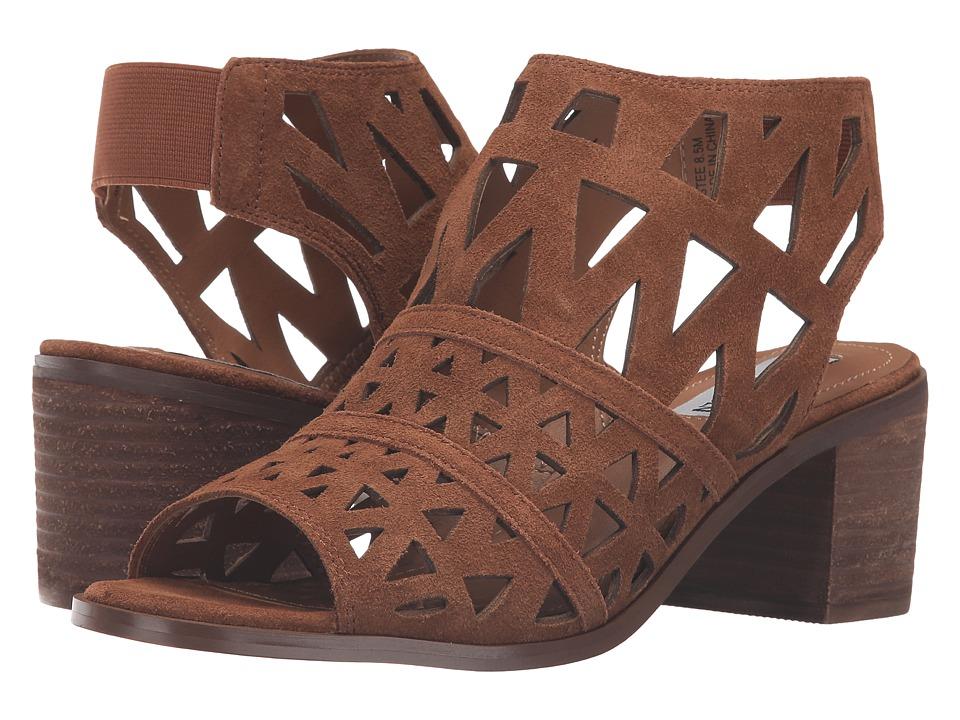 Steve Madden - Estee (Cognac Suede) Women's Shoes