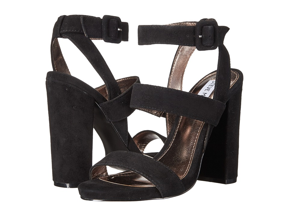 Steve Madden - Canaan (Black Suede) Women's Shoes