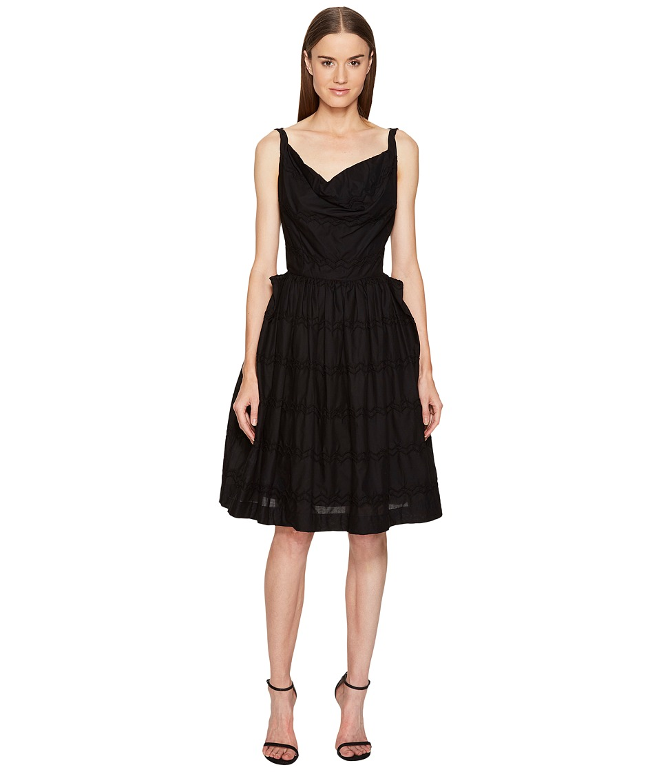 Vivienne Westwood - Twisted Monroe Dress (Black) Women's Dress