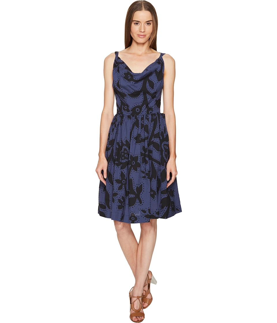 Vivienne Westwood - Twisted Monroe Dress (Blue) Women's Dress
